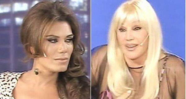 Flor de la V emocionó a Susana y la defendió en la polémica con las lesbianas