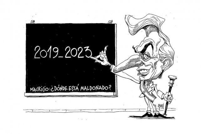 Maldonado, campaña y reelección