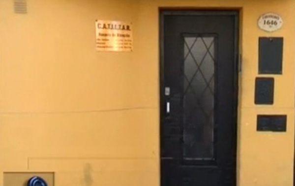 La sede de Catiltar que fue asaltada esta tarde.