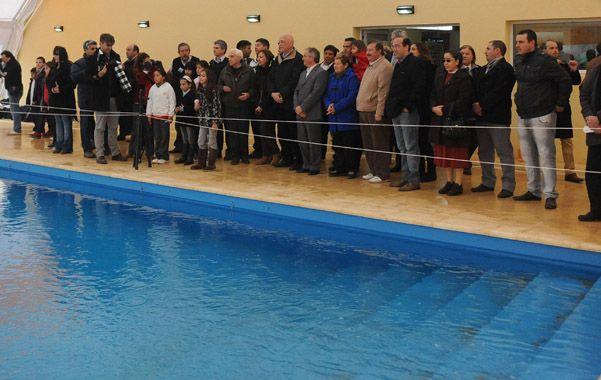 piscina. La pileta semiolímpica será aprovechada por vecinos y alumnos.
