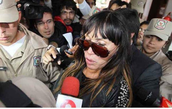 Moria decidió no hacer declaraciones periodísticas desde que arribó al país.