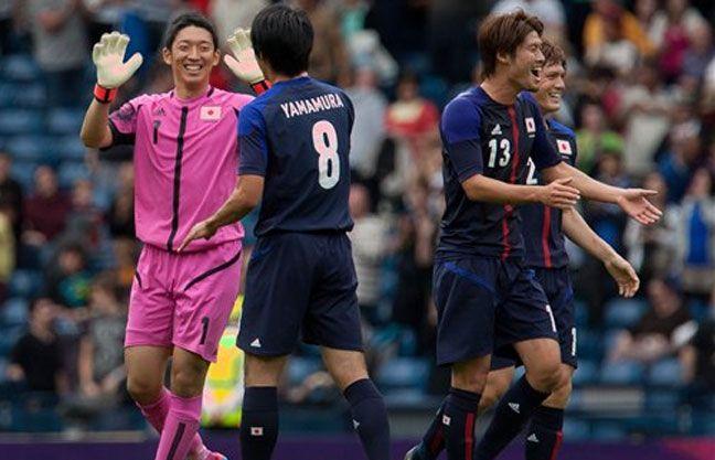 Festejan los nipones que ni ellos lo pueden creer.