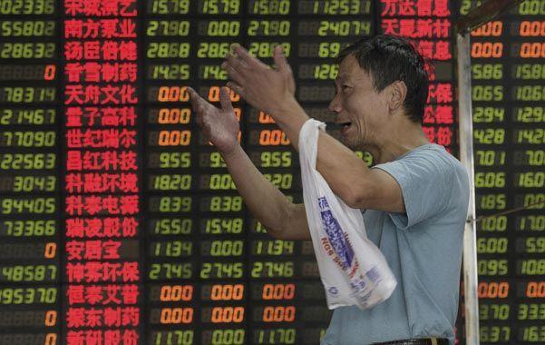 Gigante en problemas. La economía china se desacelera y afecta los precios de las materias primas.