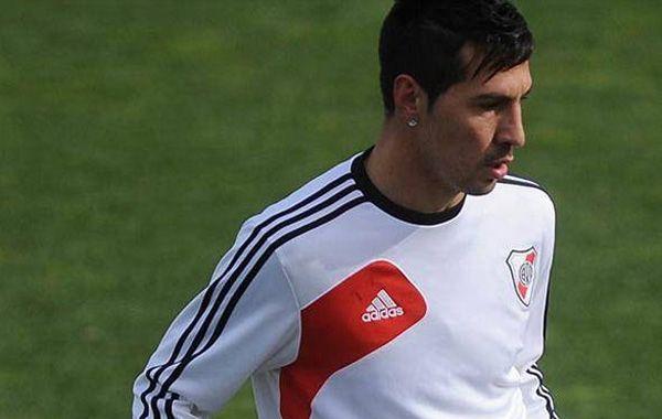 El ayudante de campo e hijo del entrenador Ramón Díaz