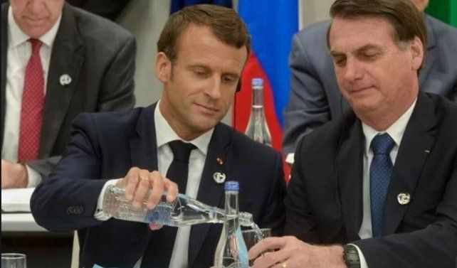Bolsonaro dice que sólo aceptará la ayuda del G7 si Macron retira sus insultos