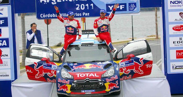 Rally Argentina: Loeb ganó en una carrera con final apasionante