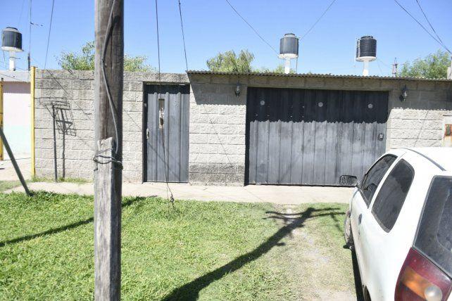 Tapiada. La casa de los Godoy es la única de la cuadra cuyo interior no se puede ver desde la calle.