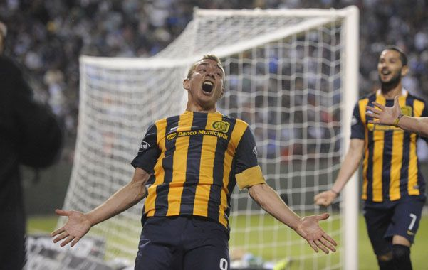 Lleno de gol. Ruben celebra