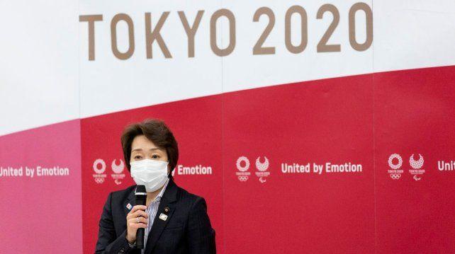Seiko Hashimoto prometió esfuerzos para que los Juegos salgan de la mejor manera y sean considerados seguros