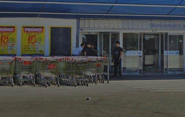 Día de domingo. Ayer a la tarde no había el público de otros días en Carrefour