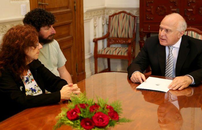 Lifschitz se reunió con los representantes de Documenta Baigorria.