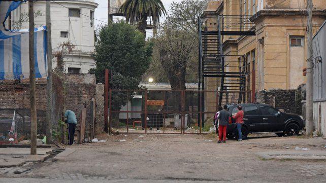 Vera Mujica y San Lorenzo. La intersección donde se produjo el violento enfrentamiento con un grupo de cuidacoches.