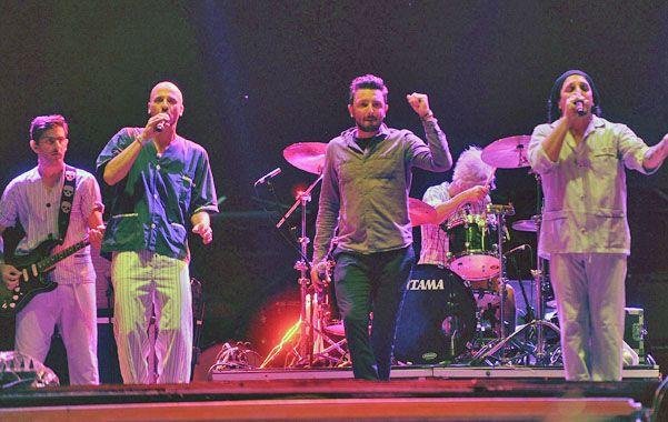 Bersuit y NTVG. La banda de los pijamas invitó a Emiliano Brancciari