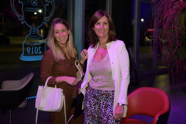 Ludmila Pellegriniy y Cristina Griot