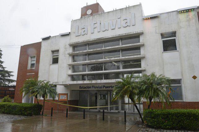 El edificio de la Fluvial data de 1950.
