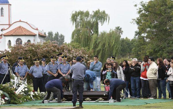 La cúpula de la policía santafesina acompañó a los familiares