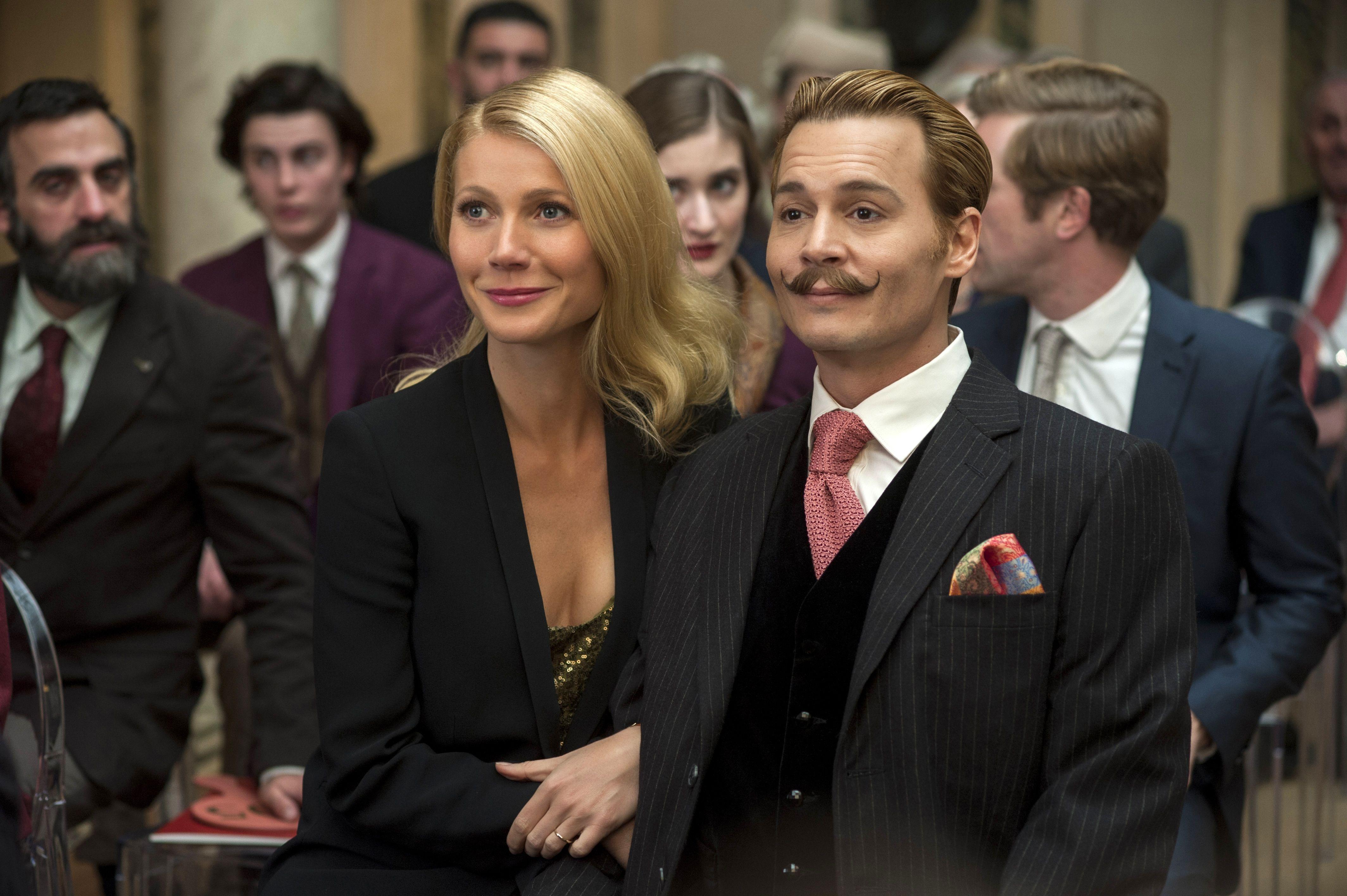 Tal para cual. Gwyneth Paltrow interpreta a la mujer de Mortdecai