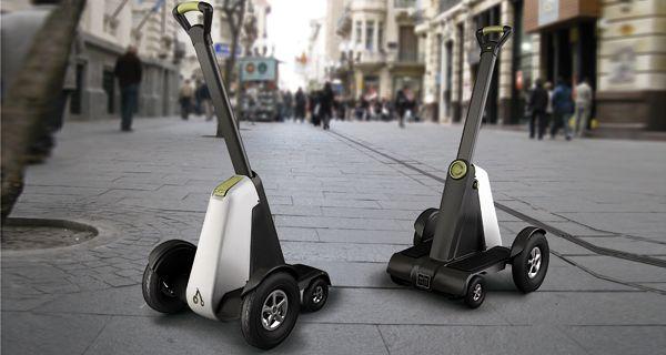 Una diseñadora rosarina presenta en Tecnópolis un vehículo para desplazarse en peatonales