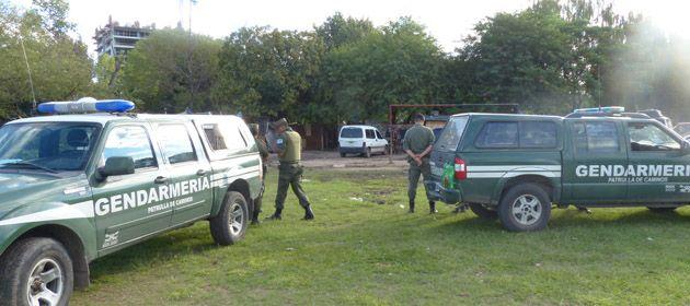 Los operativos de control se realizaban esta mañana en la zona sur de Rosario.