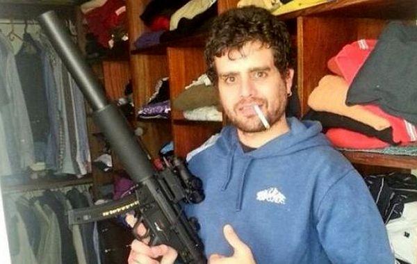 Carlitos Nair fue llevado a la comisaría de Moreno.