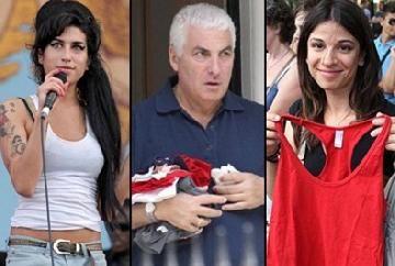 El padre de Amy Winehouse regaló ropa de la cantante a los fanáticos