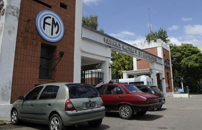 El faltante de municiones se registró en la fábrica de Fray Luis Beltrán.