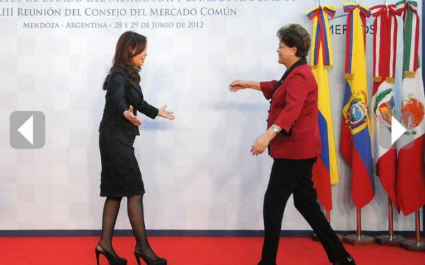 Interdependencia. Cristina y Dilma deberán pilotear una etapa crítica.