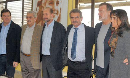 Rossi recibió el respaldo de todo el PJ de cara a las elecciones de julio