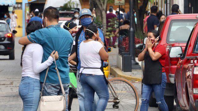 Al menos cinco muertos por un sismo de magnitud 7,5 en México