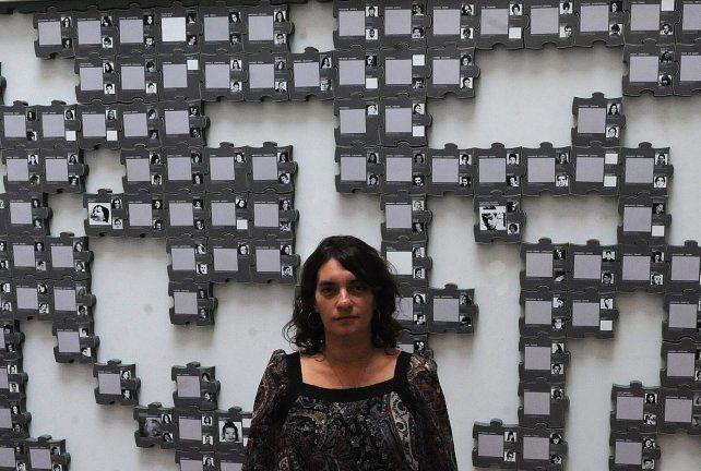 Gabriela Durruty también coordina el Centro Documental en el Museo de la Memoria