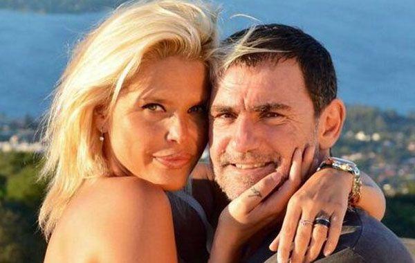 Nazarena y Fabián Rodríguez en los tiempos en que parecía que nada podía empañar la relación.