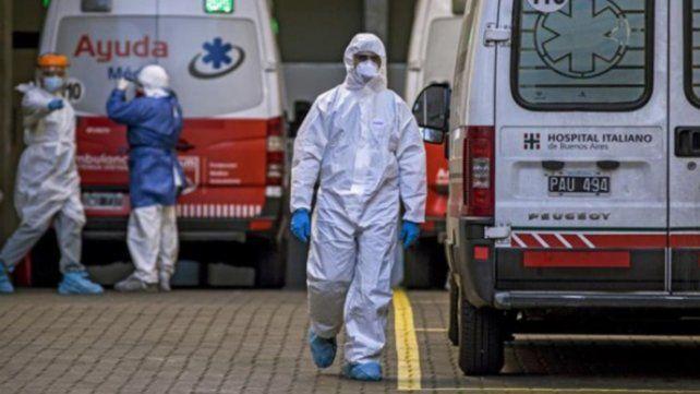 Argentina registró otras 211 muertes por coronavirus y 9.745 nuevos contagios