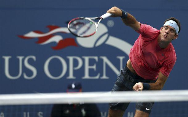 Del Potro va por un nuevo triunfo en el Grand Slam de los Estados Unidos.