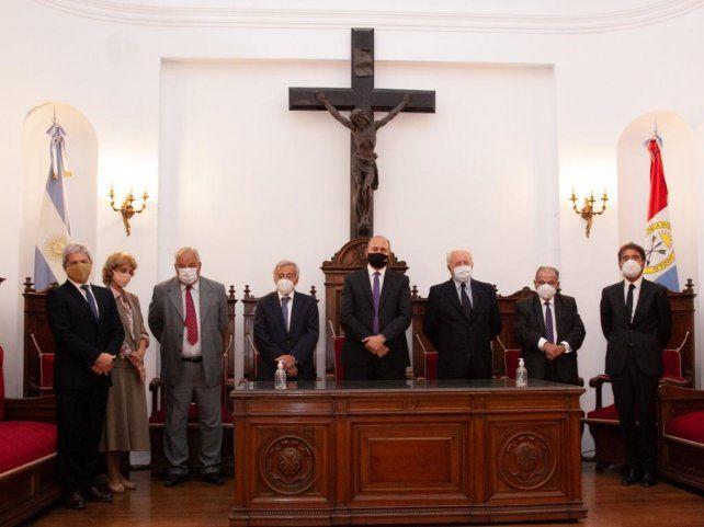 Los miembros de la Corte provincial