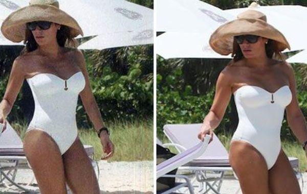 Flor de la V reveló las fotos sin retoques de sus días en Miami