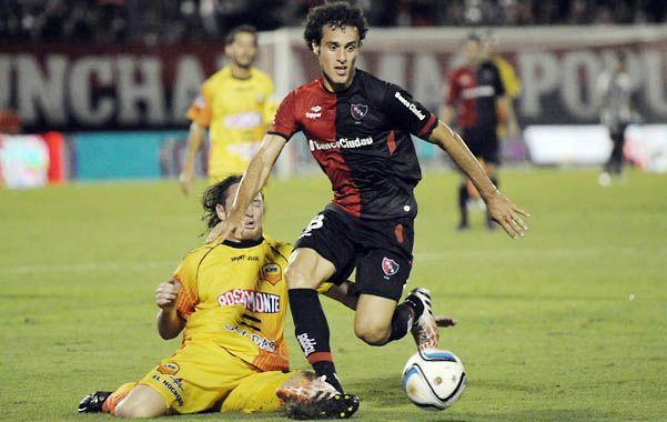 151 minutos acumula Orzán en lo que va del campeonato. Sólo fue titular ante Aldosivi.