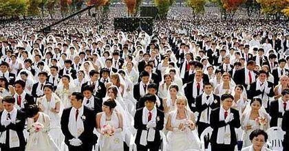 Se casaron 40 mil parejas en todo el mundo de manera simultánea