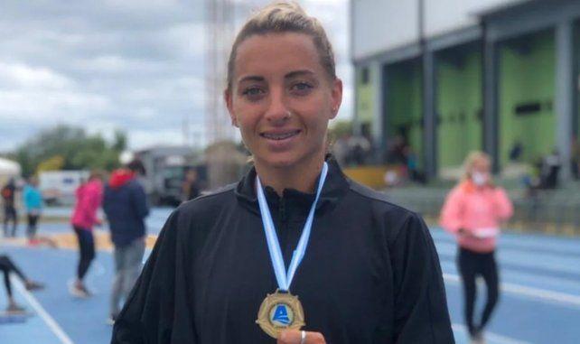 La atleta Evangelina Thomas