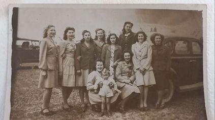 Una de las tantas imágenes de las mujeres rurales santafesinas que será parte de la muestra en Santa Rosa de Calchines.