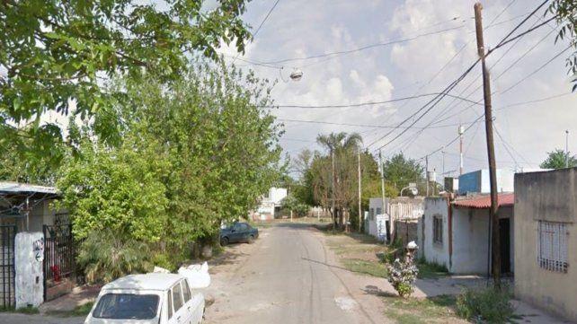 La zona donde fue perpetrado el ataque a balazos.