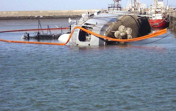 El buque se encontraba desafectado del servicio desde el año 2004 en una base cercana a Bahía Blanca.