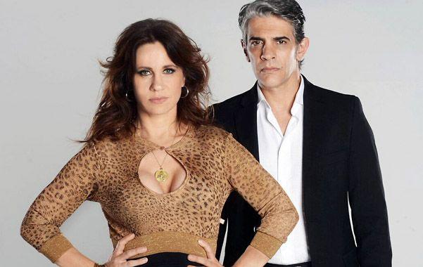 Pablo Echarri y Nancy Dupláa hablaron de sus personajes de Franco Uribe y María Leone