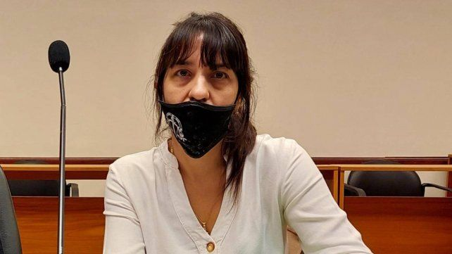 La fiscal Alejandra Del Río Ayala es quien tuvo a su cargo la investigación y la acusación durante el juicio.