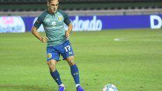 Sangiovani fue titular en el ensayo futbolístico. Reemplazó a Ojeda por decisión del Kily González.