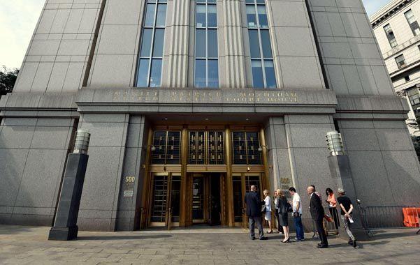 El palacio del default. La corte distrital de Nueva York