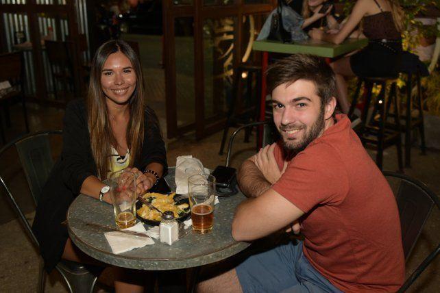 Ariadna Duarte y Julián Berge