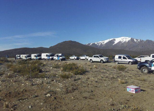 Los mapuches admiten haber rastrillado el territorio sagrado pero para buscar vainas de bala