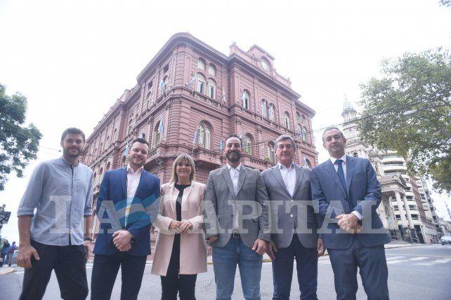 La Capital reunió a seis de los precandidatos a intendente para la foto de tapa