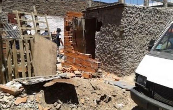 El quiosco allanado ayer fue demolido en agosto por personal de la Municipalidad.