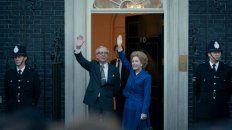 Guillian Anderson se mete en la piel de la primer ministro Margaret Tatcher en la cuarta tempoara de The Crown.